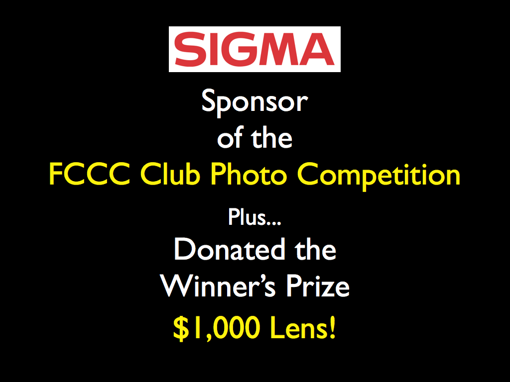 Photo Competition & Prize Sponsor